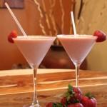 Strawberry Rum Sundae
