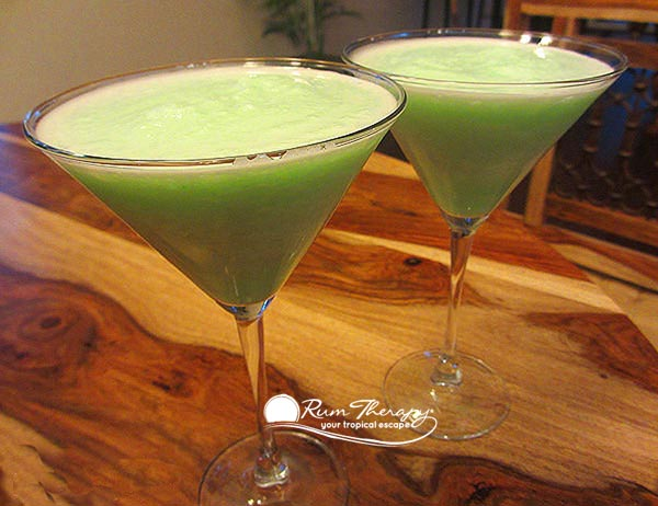 St Patrick's Day Rum Drinks - copyright Rum Therapy
