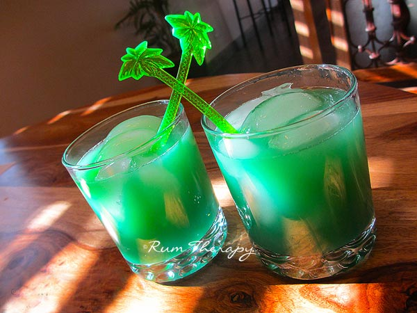 St Patrick's Punch - copyright Rum Therapy
