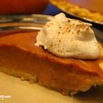 Pumpkin Rum Pie