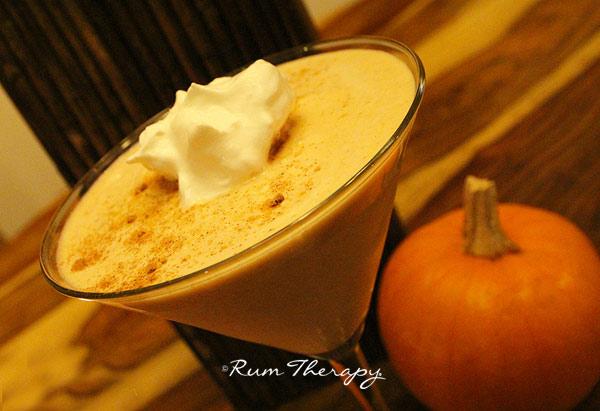Pumpkin Spiced Rum Drink Recipes