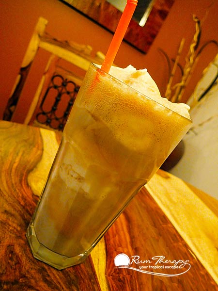 Rum 'N Root Beer Float