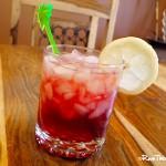 Lemon Pomegranate Fizz