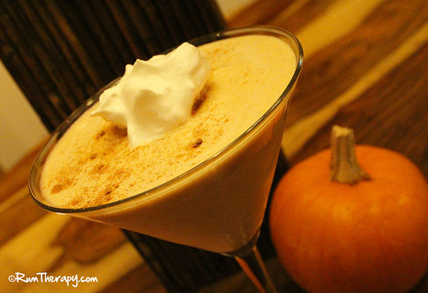 Great fall rum recipes for Mixed drink with spiced rum