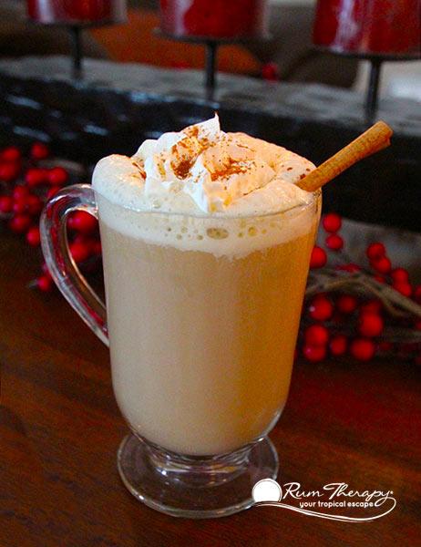 Gingerbread Rum Latte