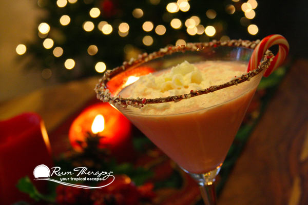 Candy Cane Cocktail copyright Rum Therapy