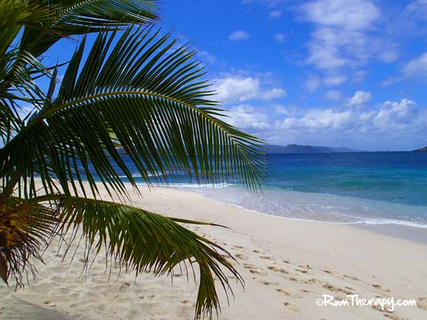 View from Sandy Spit, British Virgin Islands