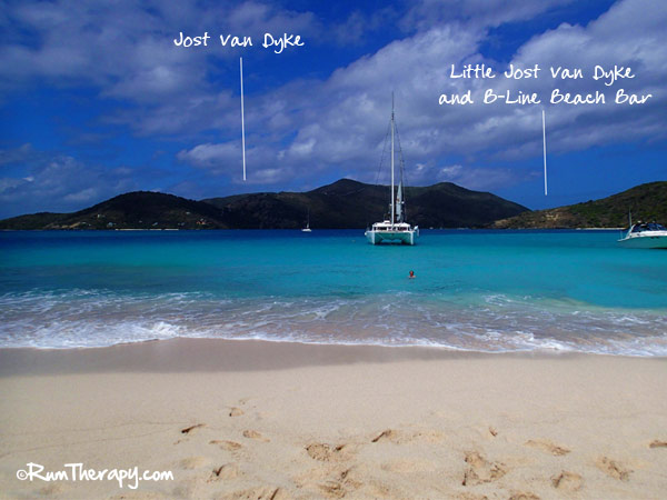 B-Line Beach Bar, Little Jost Van Dyke, BVI