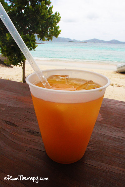 Passion Confusion at B-Line Beach Bar, Little Jost Van Dyke, BVI