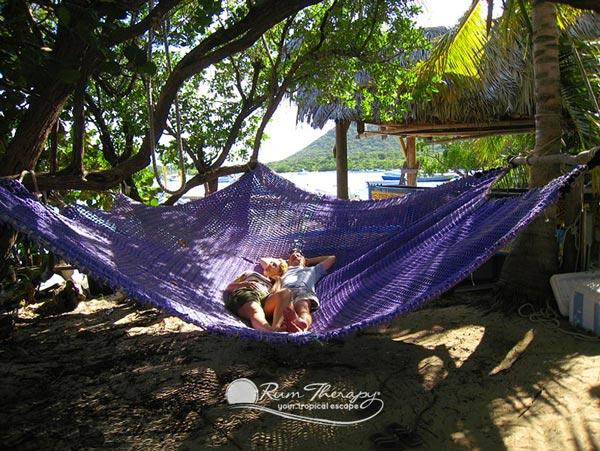 Hammock in Trellis Bay - copyright Rum Therrapy