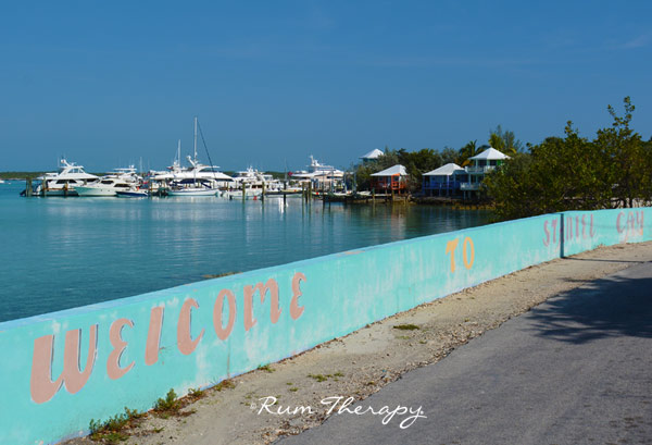 Welcome to Staniel Cay - copyright Rum Therapy