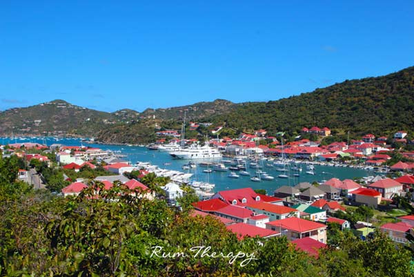 Gustavia, St Barts copyright Rum Therapy