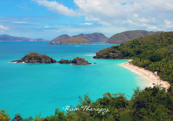 Trunk Bay, St John - copyright Rum Therapy