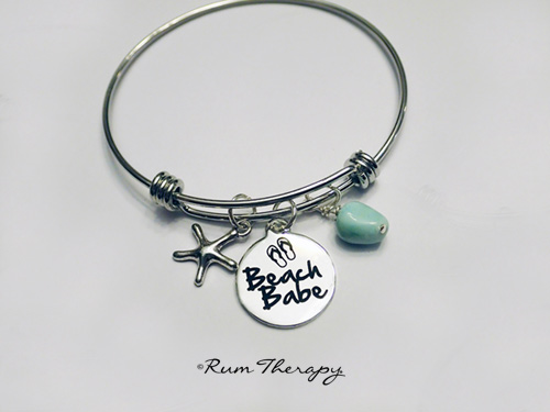 Beach-Babe Bangle Bracelet - Rum Therapy