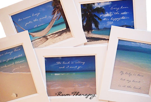 Rum Therapy Matted Beach Photos