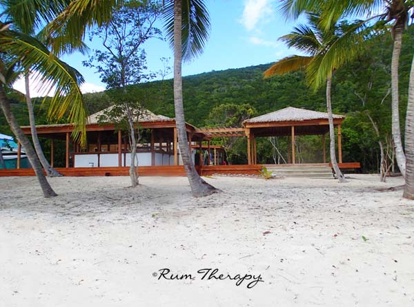 New Bar on White Bay, Jost Van Dyke, copyright Rum Therapy