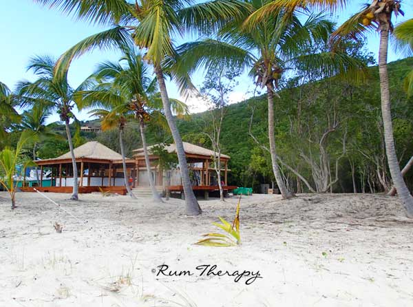 New Bar on White Bay, Jost Van Dyke - copyright Rum Therapy