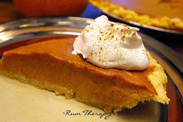 Pumpkin-Rum-Pie - copyright Rum Therapy