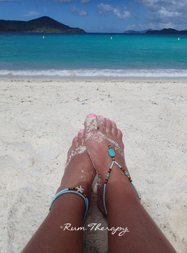 Toe-Anklet-Rum Therapy