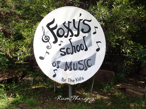 Foxy's School of Music copyright Rum Therapy