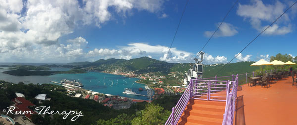 Paradise Point, St. Thomas copyright Rum Therapy