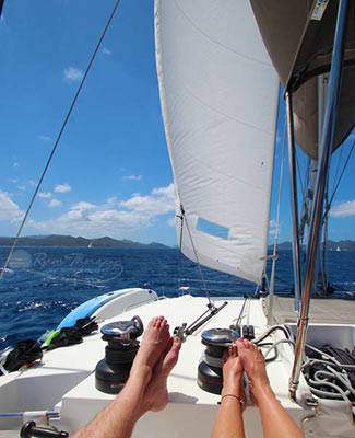 BVI Sailing - copyright Rum Therapy