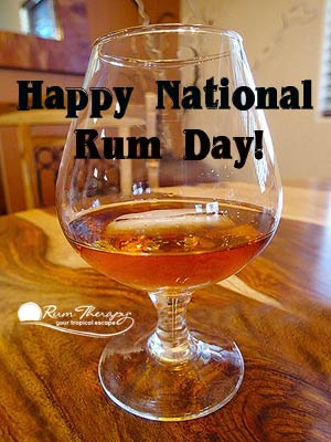 Happy-National-Rum-Day Rum Therapy