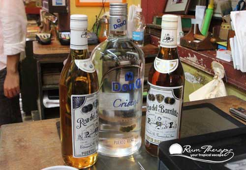Puerto Rican Rums - copyright Rum Therapy