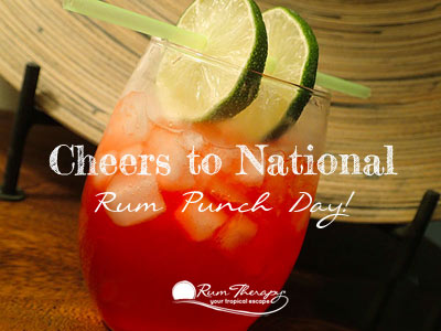 National Rum Punch Day - copyright Rum Therapy
