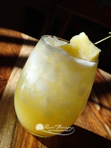 Pineapple Rum Punch - copyright Rum Therapy