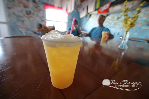 Miss Emily's Blue Bee Bar - copyright Rum Therapy