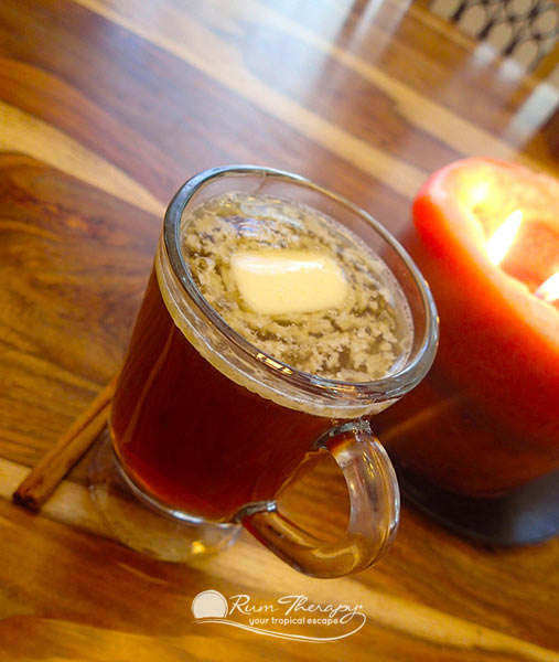 Hot Buttered Rum - copyright Rum Therapy