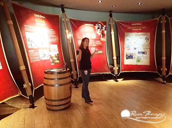 Captain Morgan Rum Tour   copyright Rum Therapy. Rum Distillery Tours on the Island of St  Croix