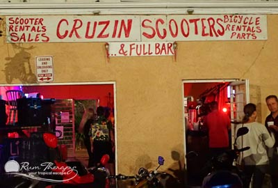 Cruzin Scooters, St. Croix